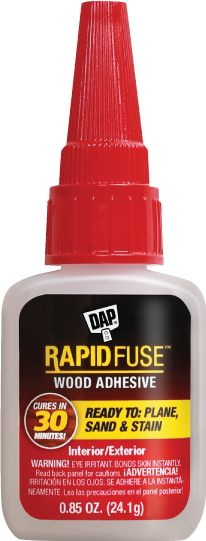 RAPIDFUSE: Fast Curing All Purpose Wood Glue from Dap❗️