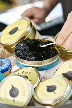 Soon to be gone if we are not careful!!  Wonderful Caviar!!  #chatwrks @canapes45 @Chatterworks