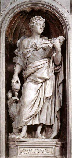 St John The Evangelist (1628-29) - Alessandro Algardi
