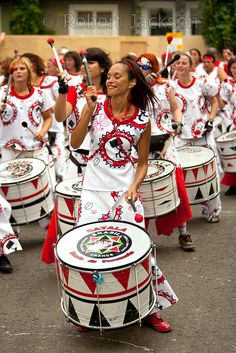 Brazilian Drummer Notting Hill Carnival 2009 MOVE TO THE BEAT