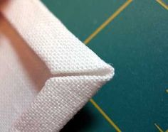 Tutorial: Mitred Corners on a Linen #cross-stitch