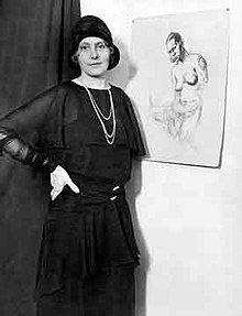 Artist and explorer Caroline Mytinger who worked in New Guinea