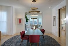 san franciscos most expensive home on sale for 28 million 02 cute dining room...love the space.....RR