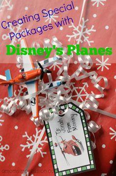 Free Printable Disney Planes Gift Tags #PlanesToTheRescue #Ad