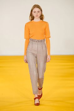 #EmiliaWickstead #2017 #Fashion #Show #Fall2017 #lfw #London #Fashionweek via @TheCut