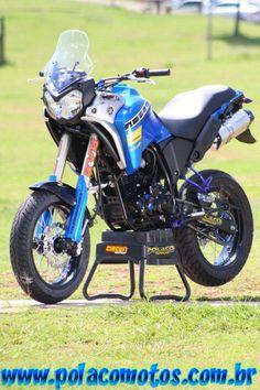 Yamaha XTZ 250 tenere supermotard | Polaco Motos - Preparações e Customização