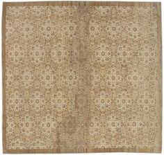 "#11712 Origin:Afghanistan Design:European Size:8' x 8' 12"" Sqft:71.33′ Color:Brown"