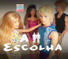 """Mundo da Chel: Novela Barbie """"A Escolha"""" - Completa"""