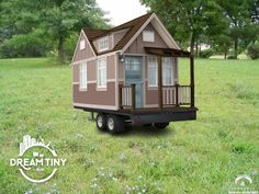 I've got huge dreams of living tiny & made this tiny house my own. Enter the…