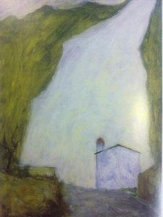 La lizza (il ravaneto di Valventosa)  Ottone Rosai, 1950  #Apuane