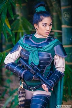 """queens-of-cosplay: """"Disney/Star Wars mashup themed shoot Photographer: York In A Box """""""