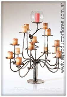 arbol velas Candle Sconces, Candle Holders, Wall Lights, Candles, Lighting, Home Decor, Meet, Appliques, Decoration Home