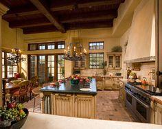 Spanish Hacienda - traditional - kitchen - phoenix - The Phil Nichols Company