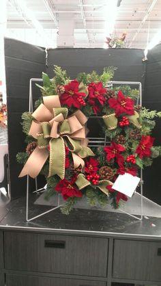 New Christmas wreaths...Robin Evans