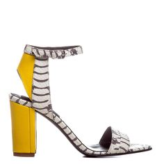 The 5th Element Sandale dama Dream Tiger Piele Naturala