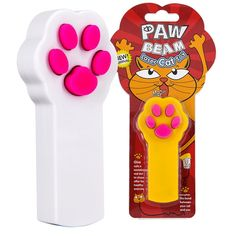Amazon.com : WOLFWILL Paw Shape Cat Catch The Interactive LED Light Pointer Exercise Chaser Toy Pet Scratching Training Tool(Pack of 2) : Pet Supplies