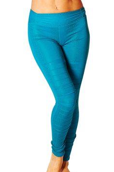 Womens's Activewear Clothing l Body Rock Slashed Legging : BR801