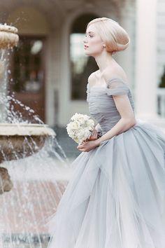 ~Sareh Nouri Bridal 2014 So pretty!! Reminds me of Cinderella