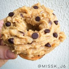 HEALTHY COOKIE DOUGH PRONUT (PROTEIN DONUT)