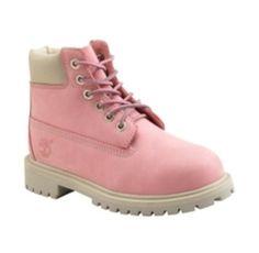 Pink Timberlands ♥