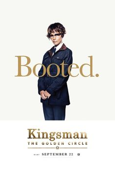 'Kingsman Character Posters Feature Halle Berry, Channing Tatum, & More!: Photo The upcoming movie Kingsman: The Golden Circle will be represented at Comic-Con this week and new character posters have been released in anticipation of the event! Watch Kingsman, Kingsman Movie, Streaming Movies, Hd Movies, Movie Tv, Hd Streaming, Movies Online, Circle Movie, Pugs