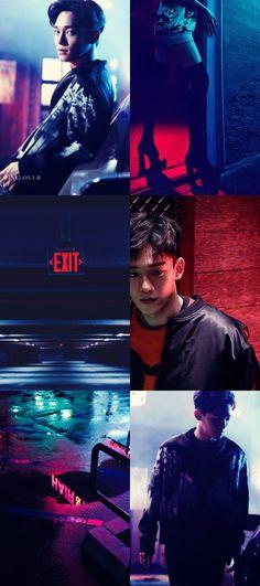 EXO Chen Aesthetic Wallpaper
