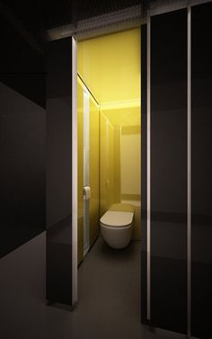 Toilet _ Tori Tori restaurant @ Mexico City by Rojkind Arquitectos and hector Esrawe