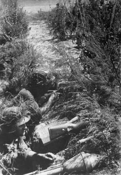Waffen SS fighting in Italy