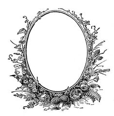 1880s Frame from Marriage Certificate ~ The Graphics Fairy