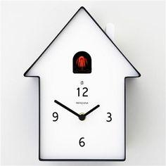 D Meridiana Cuckoo Clock 220, Black