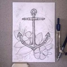 "007 - ""stop, think and go"" ⚓ #anchor #ancora #draw #drawing #sketch #sketching #illustration #illustrator #illustratorsoninstagram #art #artsupplies #gideism #gideismo #esboço #desenho"