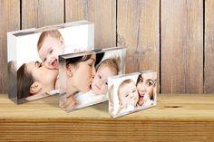 3 Acrylic Photo Blocks