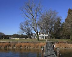 Easton Vacation Rental - VRBO 422905 - 5 BR Eastern Shore Farmhouse in MD, Spectacular Waterfront Farmhouse with Character!