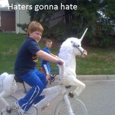 Too much Haterade!