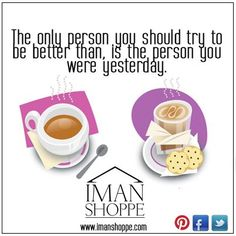 Be a better person...