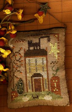 House On Pumpkin Hill by HomespunElegance on Etsy, $7.00 (10th in the first year series)