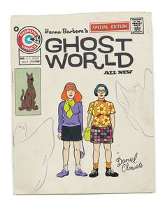 This Scooby Doo/Ghost World mash-up is full of win. I want this print of Rebecca & Enid as Daphne & Velma now!    #scoobydoo #ghostworld #daphne #velma #danielclowes #mashups