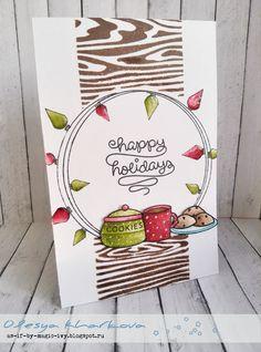 Happy Holidays или Уютный Новый год/ lawn fawn