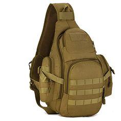 b658fe67d84d Protector Plus Tactical Sling Pack Backpack Military Shoulder Chest Bag  Backpack Travel Bag