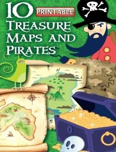 ARRRR Matey! Set sail around the backyard in search of buried treasure, give yer little mates crayons and gluesticks and make a custom map, or use these as loot bag treats at yer Pirate birthday party!