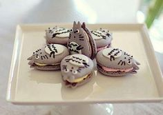 Totoro macarons! Must do, must do, MUST DO! *w*