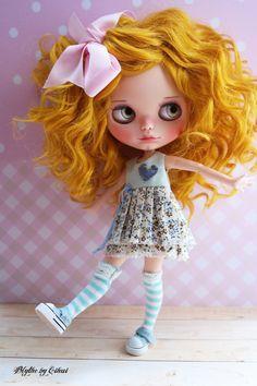 OOAK Custom Blythe Doll ALEXANDRIE by Cihui par BlythebyCihui