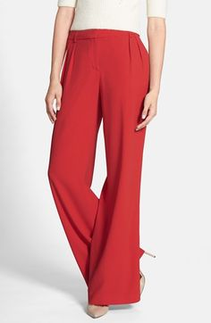 Chelsea28+Pleated+Wide+Leg+Pants+available+at+#Nordstrom