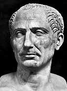 I chose a picture of Julius Caesar because he declared himself dictator for life and he was assassinated by the senate.