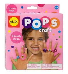 Kids Craft Kits - Arts and Crafts for Kids - Alex Toys » 5 Lovely Rings