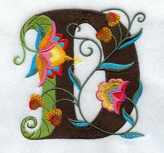 Embroidered, Jacobeen