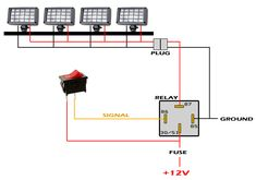 Led Light Bar Wiring Diagram Pretty How Wire Without Relay Present Within - deltagenerali. Electrical Circuit Diagram, Electrical Wiring Diagram, Electrical Projects, Electrical Engineering, Toyota Hilux, Trailer Wiring Diagram, Motorcycle Wiring, Accessoires 4x4, Kombi Home