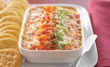 Savory Three-Cheese Spread recipe from Kraft Foods Kraft Foods, Kraft Recipes, Dip Recipes, Cheese Recipes, Yummy Recipes, Yummy Appetizers, Appetizer Recipes, Appetizer Party, Last Minute