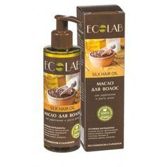 EcLab - Jedwabny  olejek do włosów o działaniu wzmacniającym i stymulującym wzrost włosów