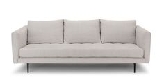 Parker Coconut White Sofa - Sofas - Article | Modern, Mid-Century and Scandinavian Furniture